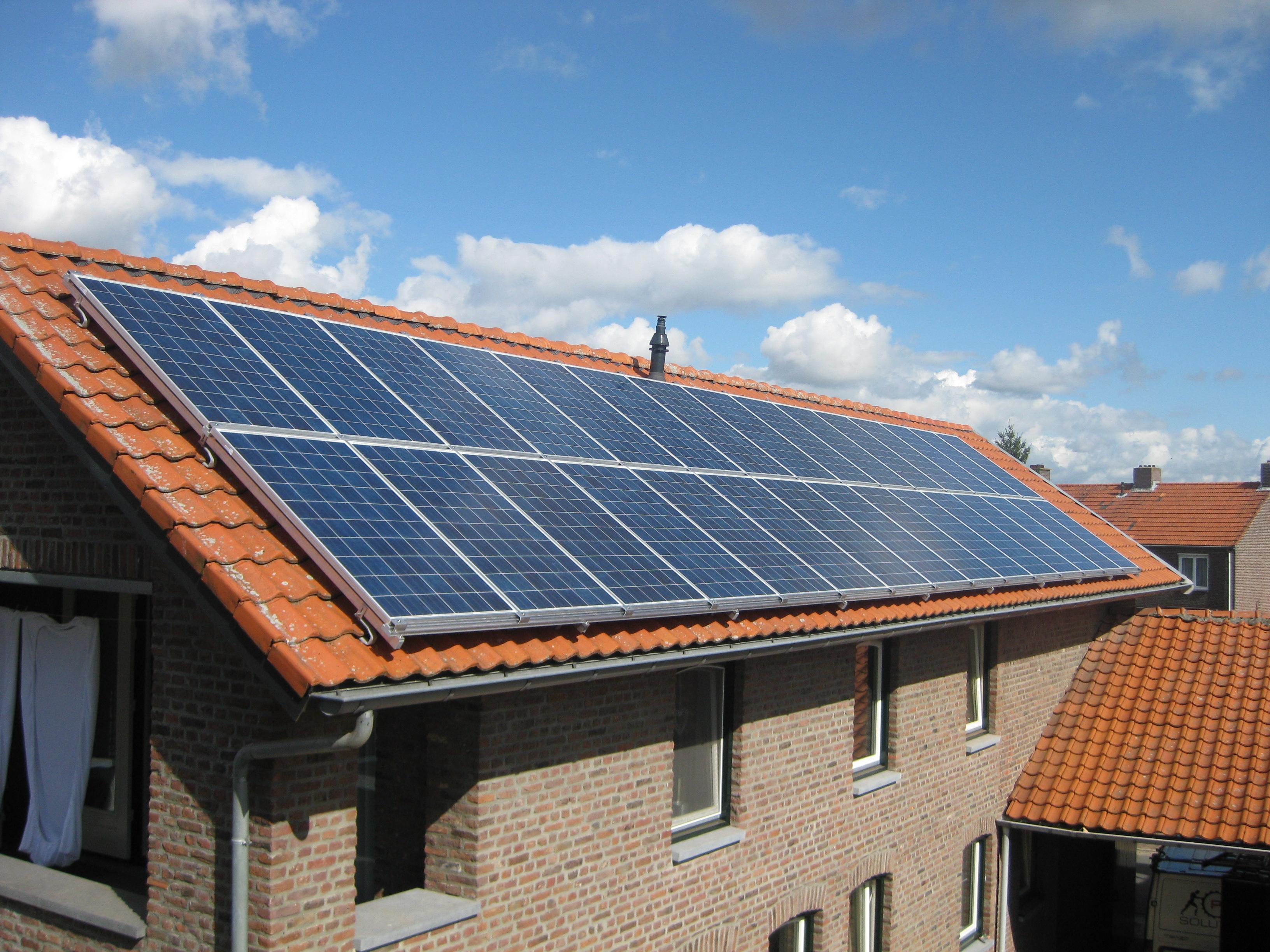 A kwaliteit duitse zonnepanelen voor thuis nu tot 30 jaar garantie - Van schaduw dak ...